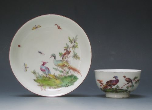 Chelsea tea bowl and saucer